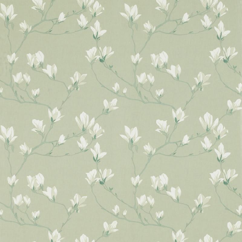 Comprar papel pintado magnolia grove verde seto de dise o - Laura ashley papel pintado ...