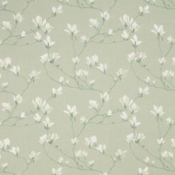 tela de flores verde Magnolia Grove, Laura Ashley