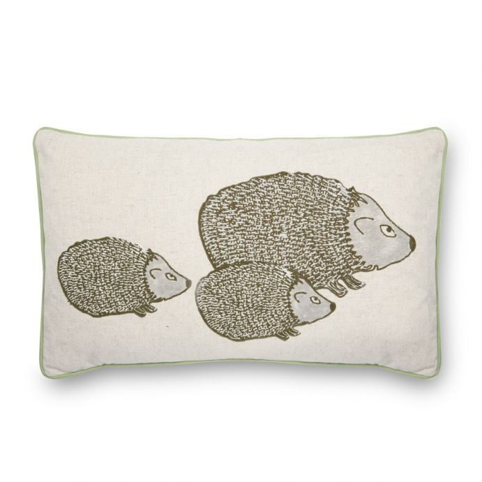 cojín erizos Little Hedgehogs natural, Laura Ashley