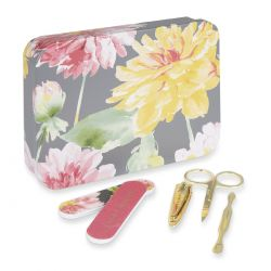 regalo set manicura flores, Laura Ashley