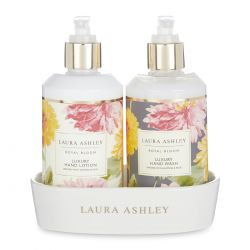 crema y jabón de manos lujo flores, Laura Ashley