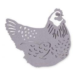 posavasos gallinas, Laura Ashley