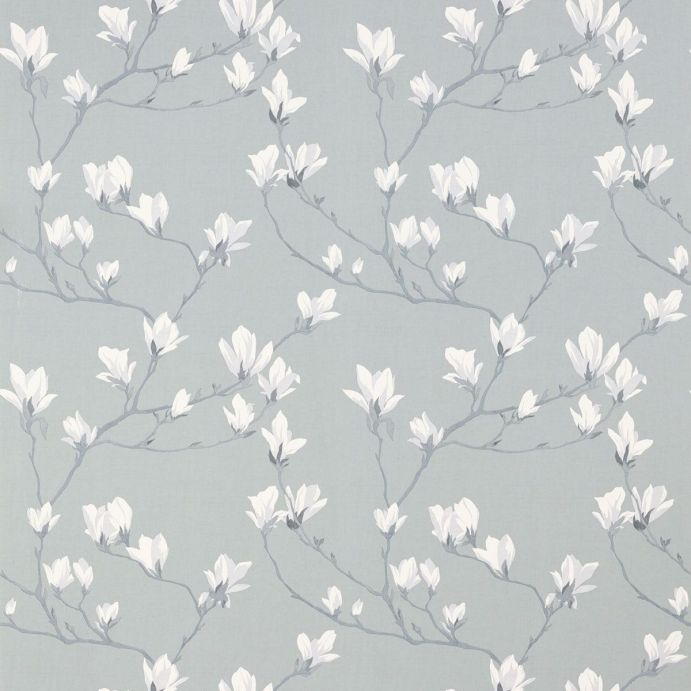 Papel pintado magnolia grove gris pizarra - Papel pintado gris ...