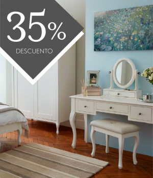 Muebles Rosalind Blanco algodón - PROMO