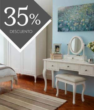 Muebles Rosalind Blanco algodón