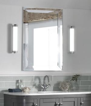 tipo espejos e iluminación