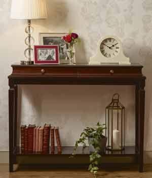 Muebles Winsford caoba clásico