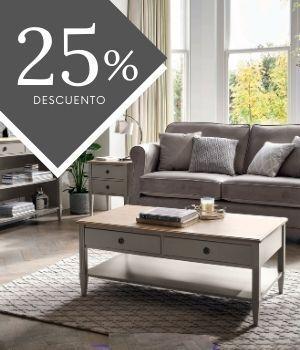 Muebles Eleanor gris francés pálido