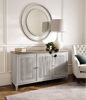 Muebles Hanover gris francés