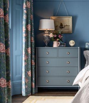 Muebles Henshaw azul mar