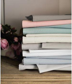 Básicos - ropa de cama lisa de algodón