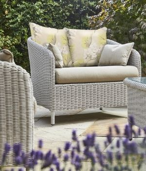 Arley - mobiliario de ratán para jardín