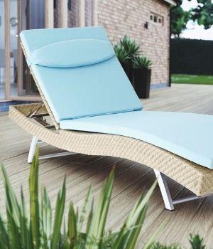 Tumbonas - relax con estilo en ratán para jardín
