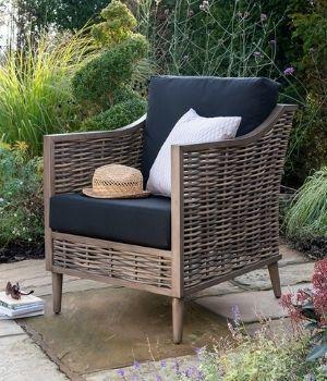 Langley - Muebles de jardín en ratán