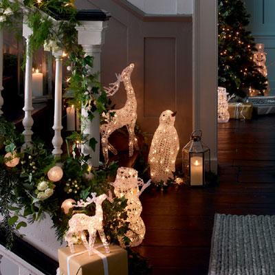 luces de navidad, decoración iluminación