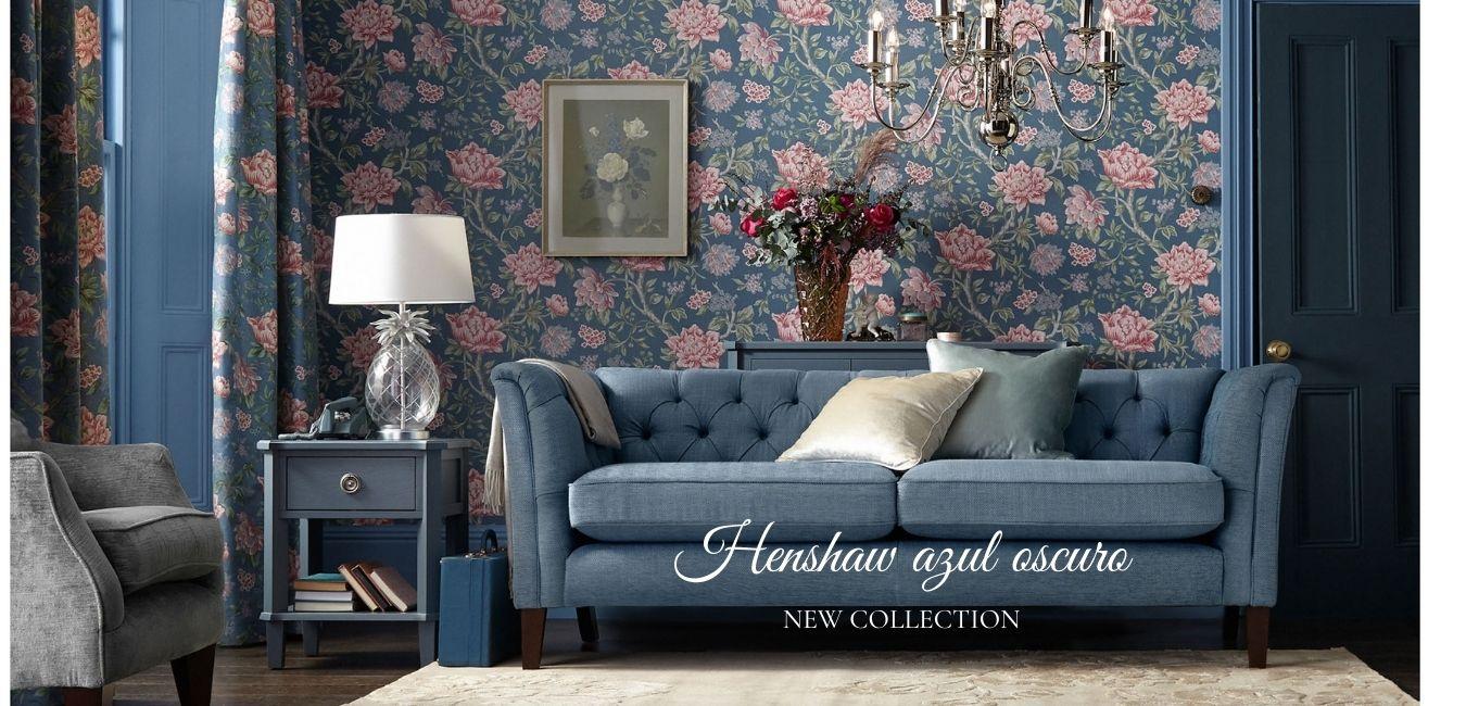 colección de muebles azul oscuro de diseño y calidad