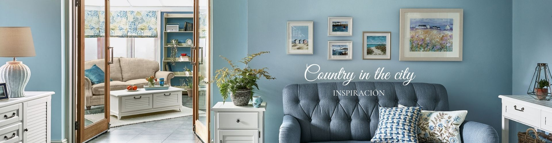 decora tu casa con el aire fresco y actual de las flores azules