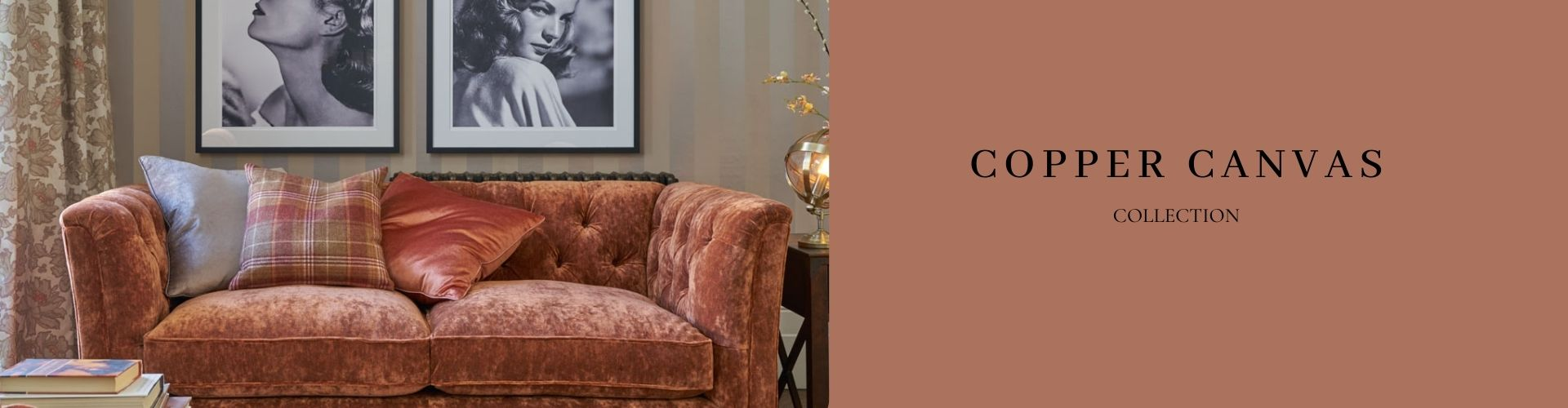 decorar en tonos cobre con glamour