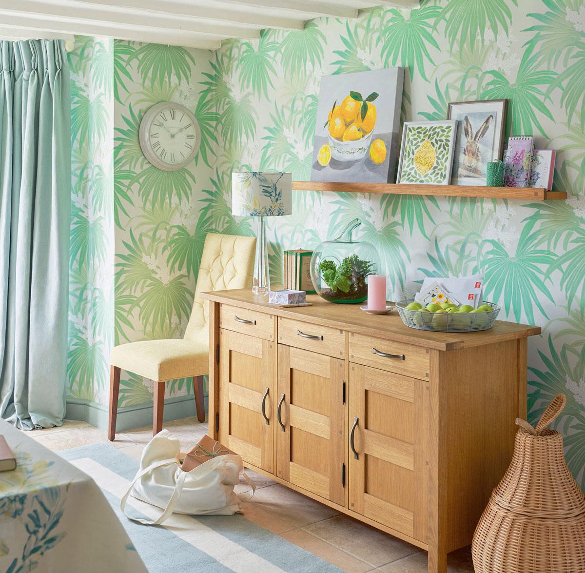 Ideas de decoración tropical para sentir el jardín en casa